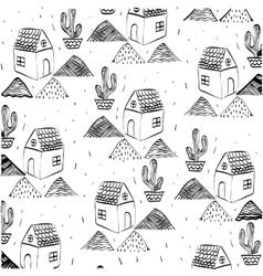 House sketch design vector