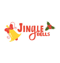 jingle bells sign icon vector image