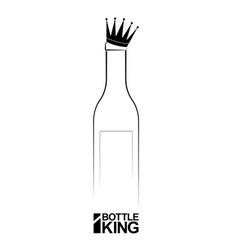 logo or emblem wine business store or vector image