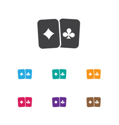 Of game symbol on playing vector
