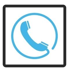 Phone Framed Icon vector