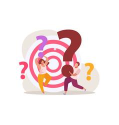 Quest target questions composition vector