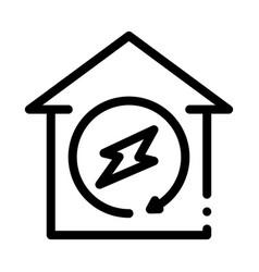 smart city wifi cloud icon outline vector image