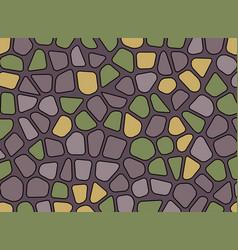 Stone pebble texture mosaic background wallpaper vector
