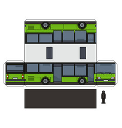 The paper model of a bus vector