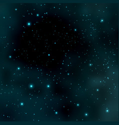 abstract cosmos background with stars vector image vector image