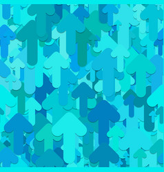 seamless arrow background pattern - design from vector image vector image
