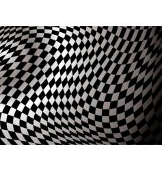 checkered abstract vector image vector image