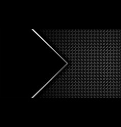 Black carbon fiber background with text space vector