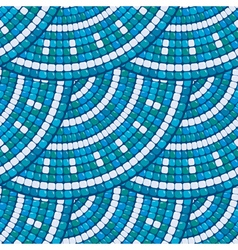 mosaic round seamless 2 380 vector image