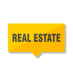 Real estate price tag vector