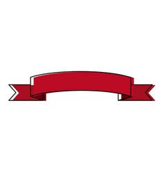 Ribbon banner decoration ornament element icon vector