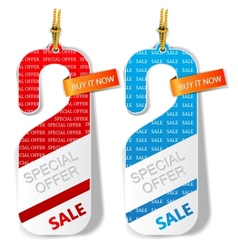 Special offer labels vector