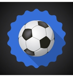 Sport Ball Football Soccer Flat icon background vector