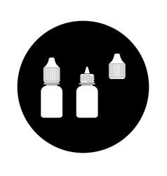 eye drop icon vector image vector image