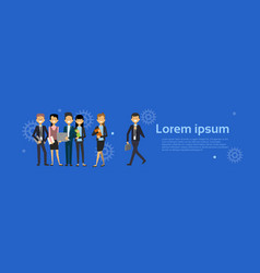 group of business people businessman and vector image