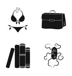 Medicine textiles accessoriesand other web icon vector