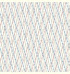 background of wavy texture in guilloche style vector image
