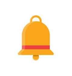 bell flat icon vector image