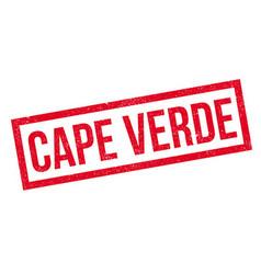 Cape Verde rubber stamp vector