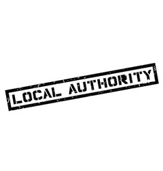 Local Authority rubber stamp vector