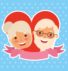 people grandparents characters vector image