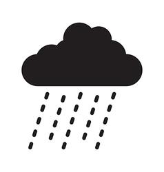 Rain cloud vector