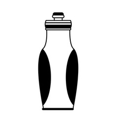 Sports bottle icon image vector