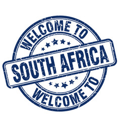 Welcome to south africa vector