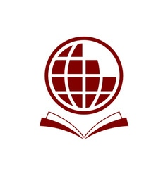 world-encyclopedia vector image