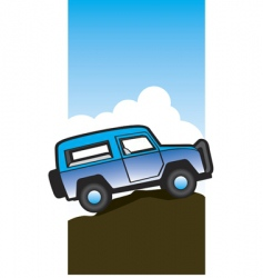 off road vector image vector image