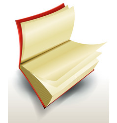 design open book vector image vector image