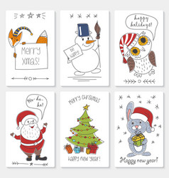 white paper cards with vector image vector image