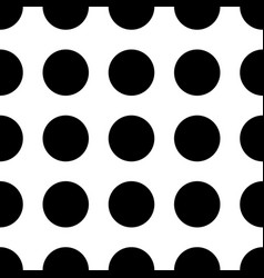 seamless polka dot pattern memphis group style vector image