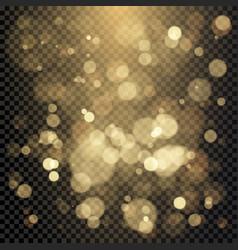 effect color bokeh circles christmas glowing vector image