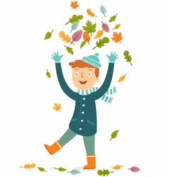 Fall leisure vector image