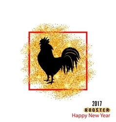 Magic Banner with Rooster as Symbol Chinese New vector