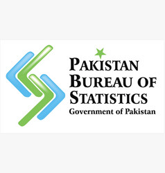 pakistan bureau of statistics logo vector image