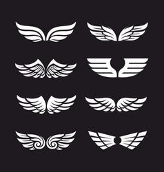 Set wings vector