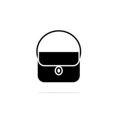 women shoulder bags icon concept vector image