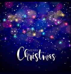 on a christmas theme with vector image
