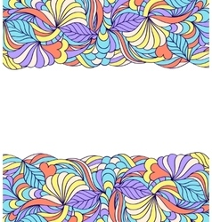 abstract colorful pattern vector image