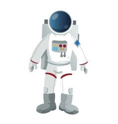 Astronaut suit icon vector