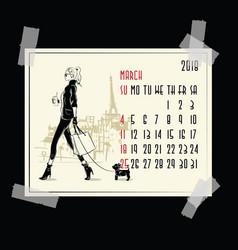 June 2018 american and canadian calendar vector