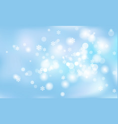 new years christmas chaotic blur bokeh of light vector image