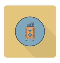 Safe with Money vector