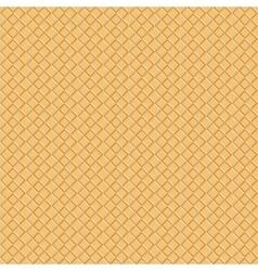 Seamless waffle pattern background eps 10 vector image