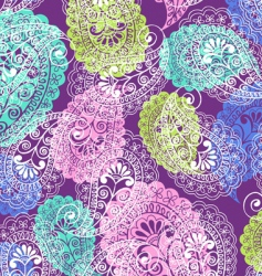 soft paisley vector image