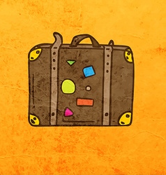 Suitcase Cartoon vector