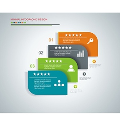 Template for interface or infographic ready vector